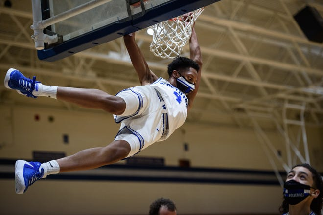 Known for his elite athleticism, Westover junior Mikey Campbell is a rising star for the Wolverines. The 6-foot-4 wing is the team's second-leading scorer at 18.4 points per game and leads the team in steals.