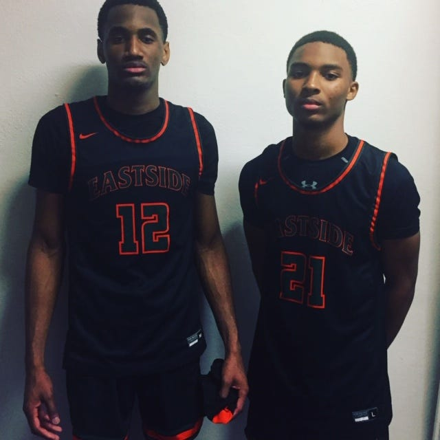 Jarveil Gainey and Omar Brown helped lead Eastside to its 15th consecutive win in 61-60 decision over Hawthorne on Friday.