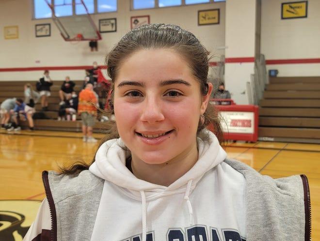 Riverside senior Sklar Warn is a guard for the 2021 Rams girls basketball team