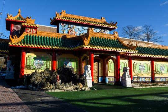 The exterior of Hunan Taste in Denville  on Friday January 29, 2021.