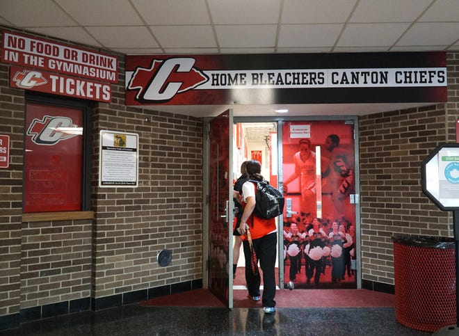A group of students told the Plymouth-Canton board of education it's time for a new mascot and logo for Canton High School, saying Chiefs is demeaning to Native Americans.