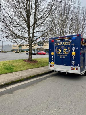 A suspicious device was being investigated at the Lancaster Avenue Goodwill location Saturday afternoon.