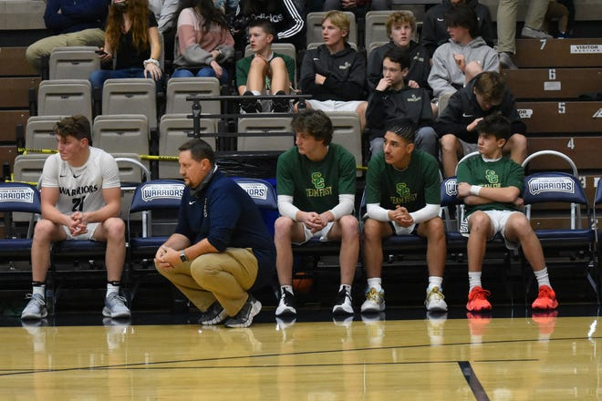 Snow Canyon assistant coach Kenny Kunde coached a Warriors team that was limited due to COVID-19 protocols.