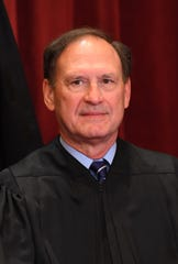 Associate Justice Samuel Alito, Jr. during the formal 2018 portrait of the Supreme Court of the United States.