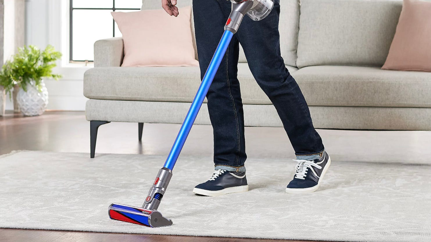 This upgraded model of the Dyson V8 Absolute Pro is more than $100 off
