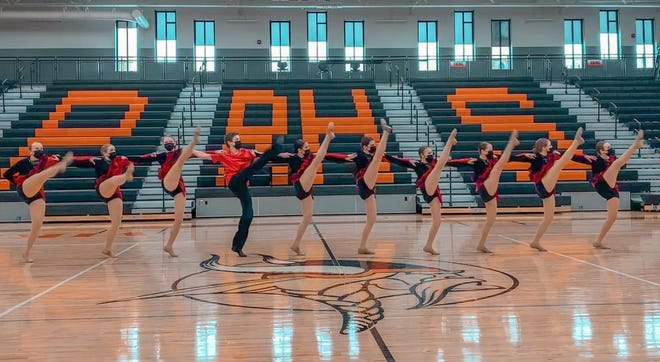 The Crookston dance team had a successful day in Park Rapids Saturday. The Pirates' varsity kick team finished eighth.