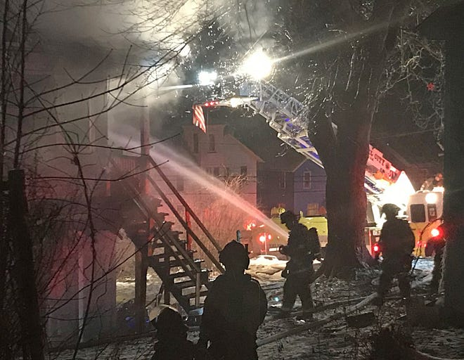 Three people died in a house fire at 2 East Bissell Ave. in Oil City at around 1 a.m. on Saturday.