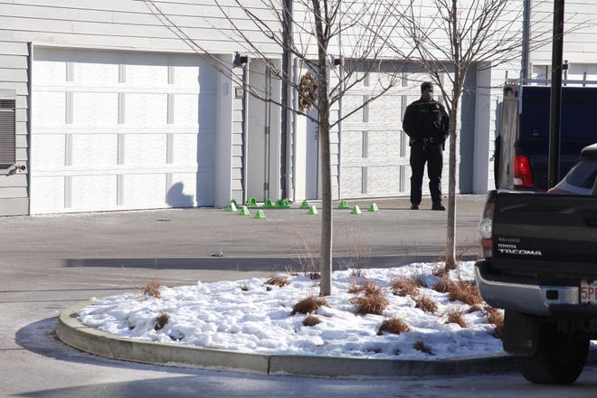 One person is dead after a Sunday morning shooting at the Mastlight apartment complex inUnion Point, the former South Weymouth Naval Air Station.
