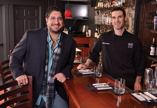Cava Tapas and Wine Bar will open for its annual Aphrodisiac Valentine's Day Tasting Menu for Valentine's Day Feb. 13 and 14. Above are Cava co-owners John Akar and chef Gregg Sessler