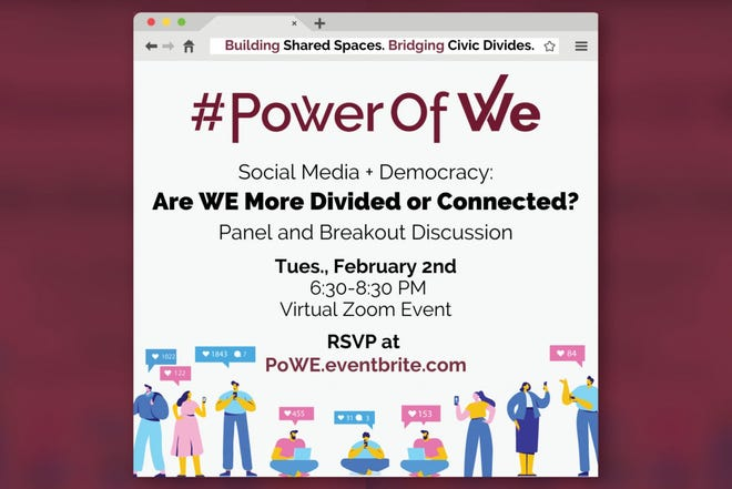 Florida State University's student-run Power of WE is hosting a virtual event on Feb. 2 to discuss social media and how it affects democracy.