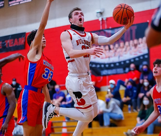 Bowie's Coleton Benson, a senior guard who will play at Army next year, may have had his finest day as a prep as he scored 42 points on the road in the win at Lake Travis Friday.
