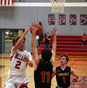 Mason Murphy and the No. 4 Ballard boys' basketball team are on a nine-game winning streak following a 57-34 home win over Carlisle Saturday. The Bombers crushed No. 2 Carroll on Friday at Carroll, 56-38, and are now tied with the Tigers atop the Raccoon River Conference.
