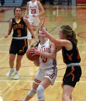 Brooke Loewe and the rest of the second-ranked Ballard girls' basketball team is getting more comfortable on offense heading into the final stretch of the regular season. The Bomber offense has been overshadowed by the team's elite play on defense.