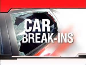 There have been several car burglaries in Leesville according to authorities.