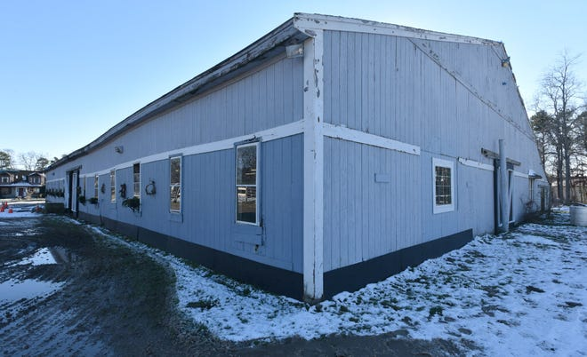 FALMOUTH--The indoor riding barn at Smithfield Farm along Sandwich Road in Falmouth.