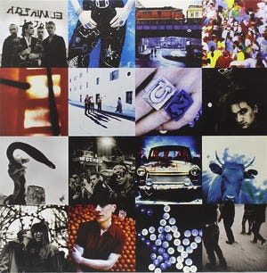 """""""Achtung Baby"""" by U2"""
