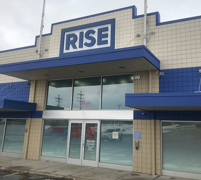 The new Rise Erie location, on Rotunda Drive in Summit Township, shown on Jan. 27, 2021, is scheduled to open in February.