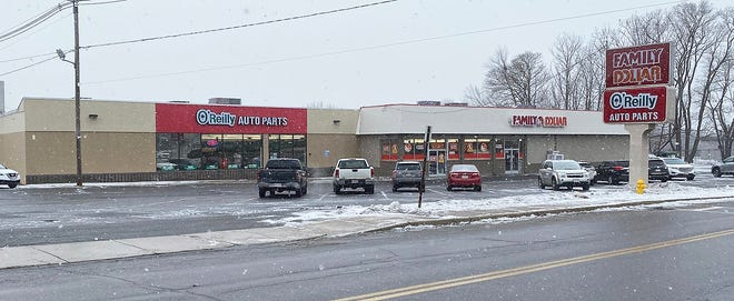 The current location of O'Reilly Auto Parts and Family Dollar in Gardner.