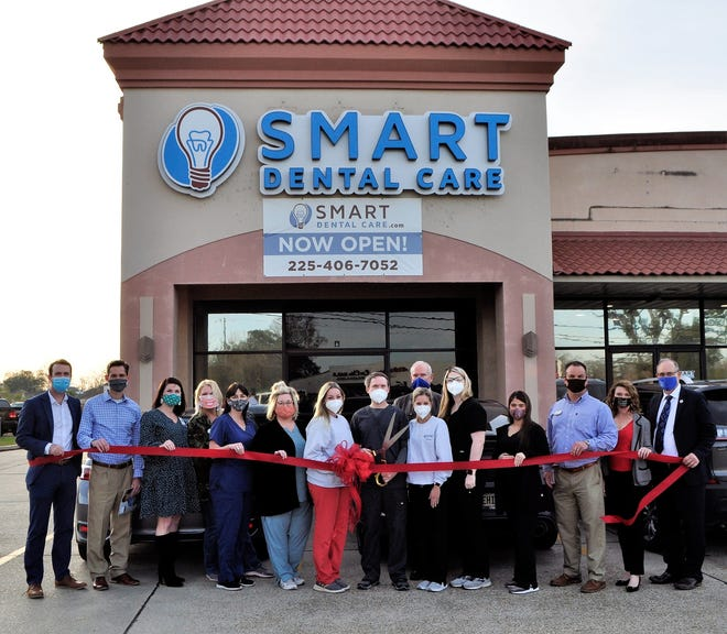 Smart Dental Care held a ribbon-cutting ceremony to mark the opening of its second location in Ascension Parish.