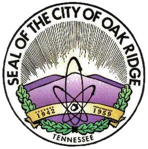 Seal of the city of Oak Ridge