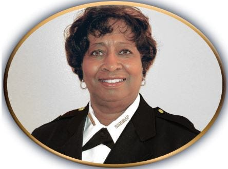 Sheriff Vanessa Crawford was elected to her position in Dec. 2005. She was the first woman to serve as Sheriff in the city of Petersburg.