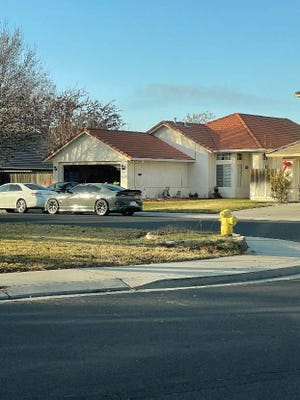 Investigators raided a home on the 400 block of Chablis Way in Manteca as part of a federal drug-trafficking investigation.