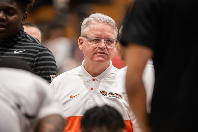 Christopher Pond has been an athletic trainer at the University of the Pacific for 30 year.