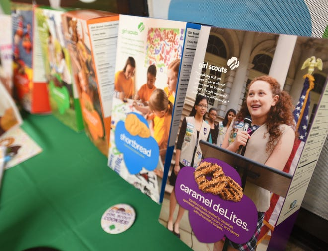 The annual Girl Scouts cookie drive starts on Feb. 19 and continues through March 21 in Southwest Florida. In addition to brand favorites, new this year are Toast-Yay cookies, flavored and shaped like filled French toast.