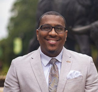 "Corey Posey is the diversity, inclusion and equal opportunity officer at USF Sarasota-Manatee. USF's ""Shadow Day,"" Posey said, ""will provide our students with critical mentorship opportunities as they prepare for careers that ultimately impact our Sarasota-Manatee community."""