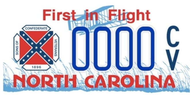 The N.C. Department of Motor Vehicles has discontinued the Sons of Confederate Veterans specialty license plate because it bears the image of the Confederate flag.