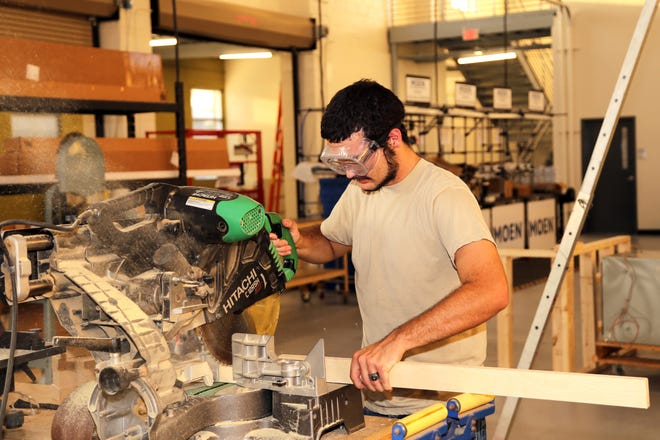 Craven CC's Workforce Development department is offering several classes this spring. Many classes are taught at the Volt Center, including Carpentry Level 1 and 2. [CONTRIBUTED PHOTO]