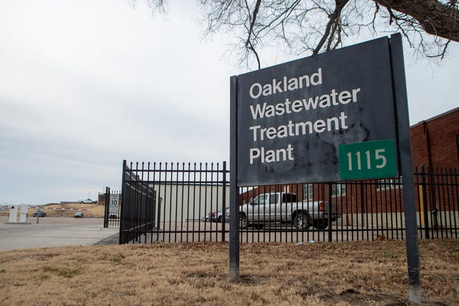 The Oakland Wastewater Treatment Plant is located at 1115 N.E. Poplar St.