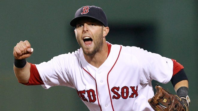 Second baseman Dustin Pedroia was part of three World Series champions with the Red Sox.
