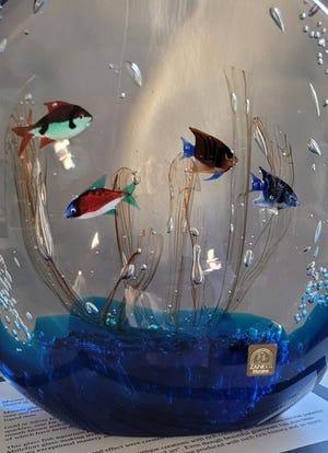 Fish Tank, by Italian artist Oscar Zanetti.