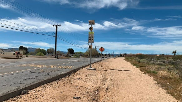 """The Hesperia City Council on Tuesday will meet to discuss a draft plan to improve """"I"""" Avenue, a 6.4 mile main roadway that connects Ranchero and Bear Valley roads."""