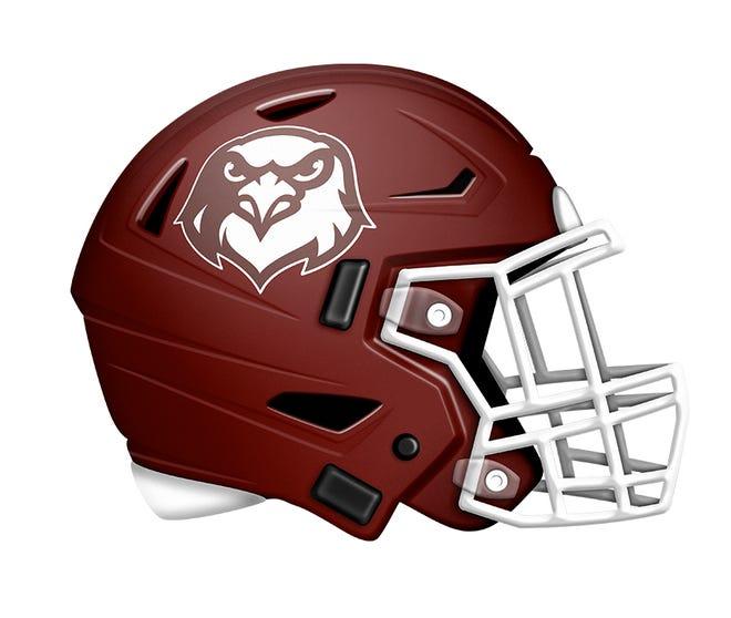 McMurry football helmet