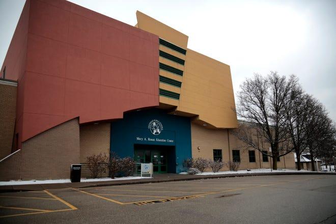 The Cincinnati Public Schools main office in the Corryville neighborhood of Cincinnati on Monday, Feb. 1, 2021.