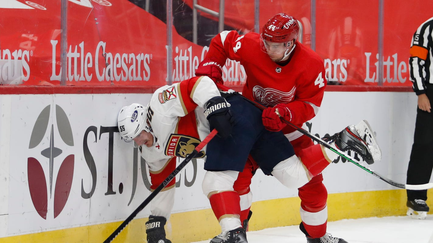 How Christian Djoos went from waivers to regular for Detroit Red Wings - Detroit Free Press