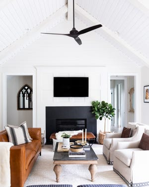 The family room of a Saline farmhouse was named of the Best of Houzz winners for 2021.