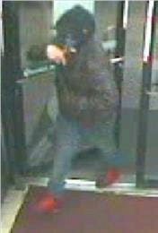 The Lafayette Police Department is looking for a man who it says was involved in an armed robbery at a gas station on West Congress Street.