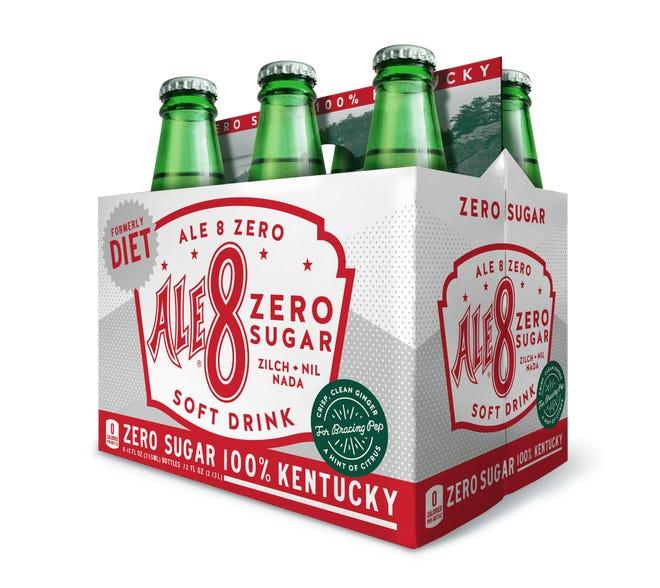 Diet Ale-8 is rebranding to Ale-8 Zero Sugar.