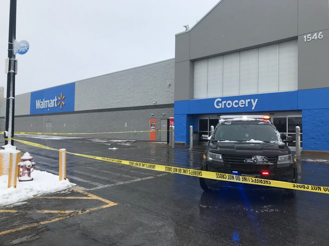 The Walmart in Marion was evacuated on Feb. 1 after suspicious wires were discovered in the bathroom.