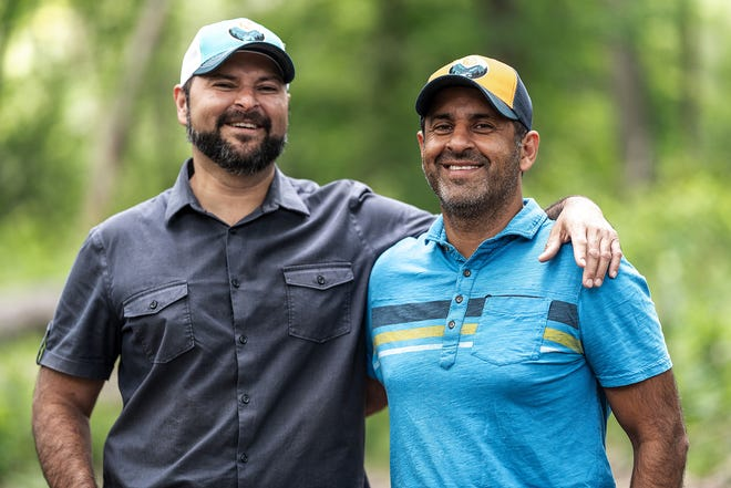 Asim and Qasim Khan run ZYN, which makes four flavors of low-sugar drinks with curcumin. The Milwaukee-based ZYN is sold around the world.
