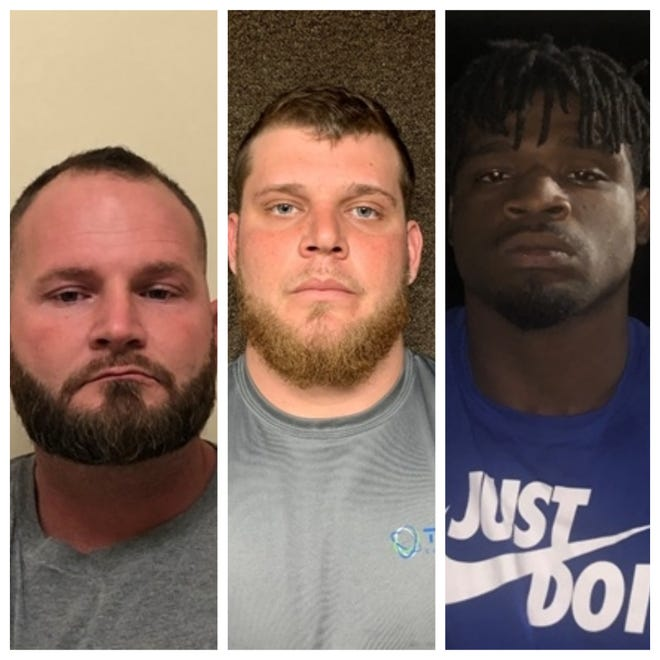 Authorities said Beaux Cormier, 35, of Kaplan; Andrew Eskine, 25, of Carencro; and Dalvin Wilson, 22, of Eunice, were charged with first-degree murder in the January 2020 deaths of two women, one of whom was Cormier's sister,