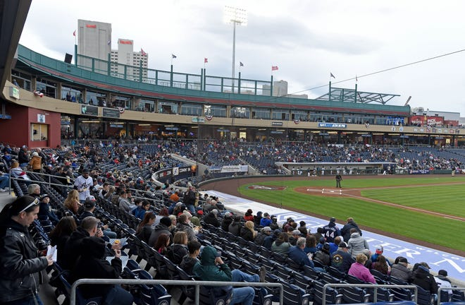 The Reno Aces' home opener on May 13 will allow for 50 percent capacity at Greater Nevada Field in downtown Reno.