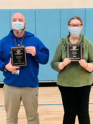 The Boys & Girls Clubs of Wayne County selected Josh Waller as its Employee of the Year and Nickie Smith as its Volunteer of the Year for 2020.