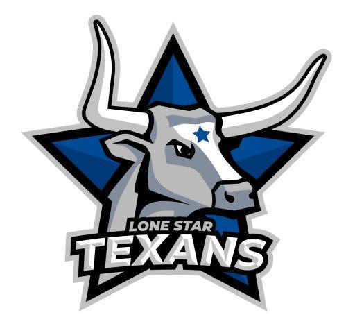 Lone Star Middle School Texans logo.