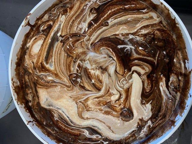 Ice cream from Smiley's Ice Cream based in Rockingham County.