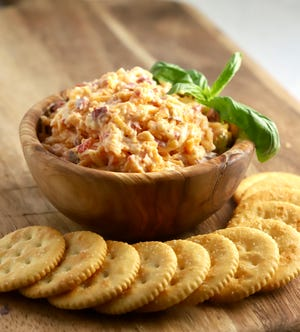 Make sure you have plenty of touchdown-worthy snacks like this delicious Pimento Cheese Spread for this weekend's Super Bowl.
