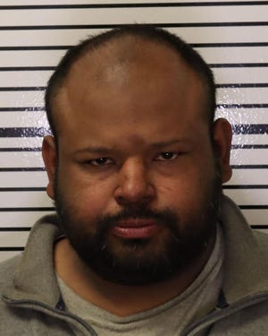 Angel Navarro, 34, of Alpaugh,  was arrested for animal abuse and an active warrant.
